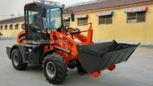 Factory Direct Qingzhou Wheel Loader 1.0 Ton Small Loader with Hydraulic Joystick pictures & photos