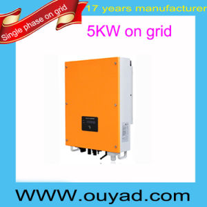 5kw Good Quality on Grid Inverter Single Phase Grid Tie Inverter pictures & photos