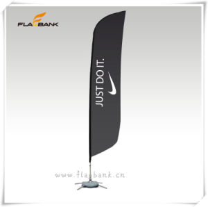 2.8m Exhibition Aluminium Digital Printing Beach Flag/Feather Flag pictures & photos