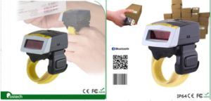 Bluetooth 2D Barcode Scanner Fs02, USB Wearable Bar Code Reader with Silicon Case pictures & photos