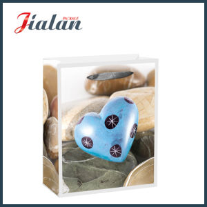 Cheap Coated Paper Heart-Shaped Stone Shopping Gift Paper Bag pictures & photos