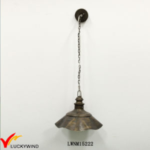 Industrial Antique Style Lid Shade Indoor One Light Pendant pictures & photos