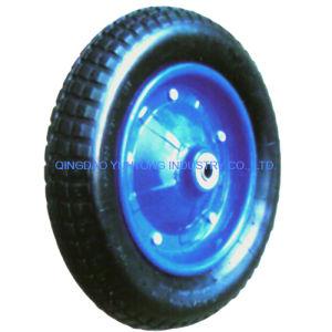 Solid Rubber PU Foam Wheel