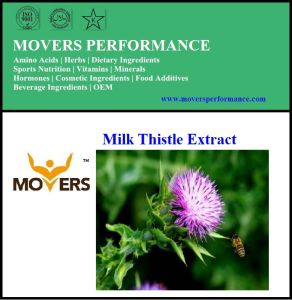 Hot Sale Milk Thistle Extract/ Silymarin 80% pictures & photos