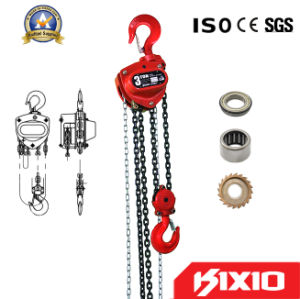 3 Ton Lifting Hoist Manual Chain Block with Pulley pictures & photos