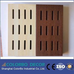 Environmental Internal Sound Absorb MDF Board pictures & photos