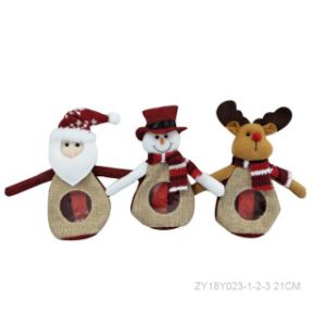 Promotion Gift - Stuffed Christmas Toy - Chocolate / Candy Bag pictures & photos