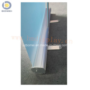 economic roll up banner stand aluminum banner stand for advertising scrolling pull up banner