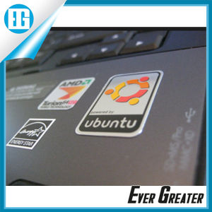 Aluminum Brushed Metal Sticker with Strong Adhesive Backside pictures & photos