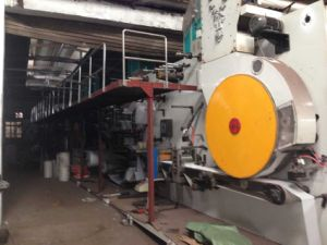 The Finishing Process Sanitary Napkin Making Line pictures & photos