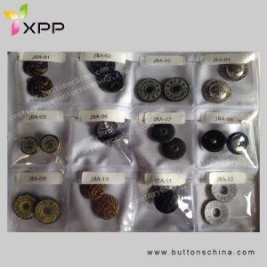 Anti-Brass Metal 4 Part Snap Button pictures & photos