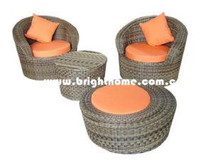 Single Sofa Rattan Wicker Garden Furniture Bg-106 pictures & photos