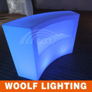 Commercial LED Round Bar Counter Designs for Homes pictures & photos