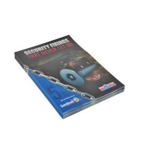 Pefect Binding Full Color Catalogue Printing Service (jhy-432)