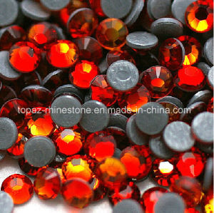 Chinese Peridot DMC Back Glue Hotfix Rhinestone for Wholesale (SS16 Peridot/3A grade) pictures & photos