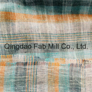 Colorful 100%Linen Mesh Fabric (QF16-2503) pictures & photos