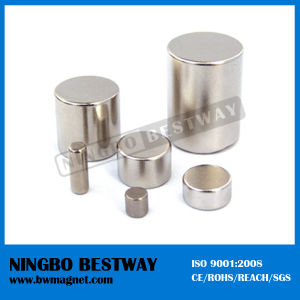 N42 D70*30 Cylinder Large Bar Magnets pictures & photos