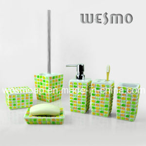 Polyresin Bathroom/Bath Accessories Set (WBP0232A) pictures & photos