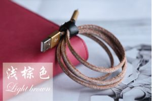 High Speed 2.4A Denim Jeans USB Cable for iPhone 6s pictures & photos