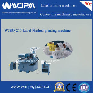 Flat-Bed High Speed Label Printing Machine (WJBQ4210) pictures & photos