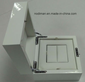 White Shiny Jewelry Wooden Box pictures & photos