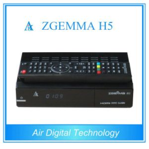 2016 Latest Version Zgemma H5 HDTV Receiver with Hevc/H. 265 DVB-S2+T2/C Twin Tuners pictures & photos