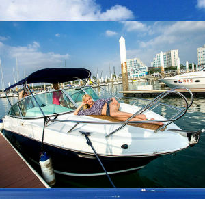 22FT Fiberglass Motor Speed Jet Boats for Sale pictures & photos