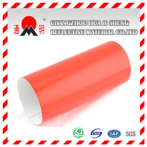 Red Engineering Grade Reflective Sheeting Vinyl for Road Traffic Signs Warning Signs (TM7600) pictures & photos