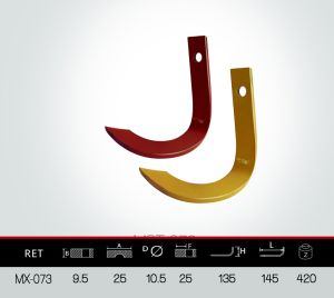 J Type Blade, Tiller Blade, Rotovator Blade pictures & photos