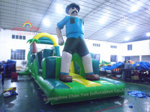 PVC Tarpaulin Inflatable Castle Bouncer, Custom Inflatable Obstacle pictures & photos