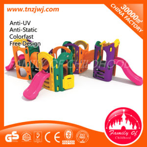 Guangzhou Kids Plastic Play Slide Playground pictures & photos