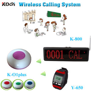 Wireless Paging System High Quality Strong Signal Transmitter Pager for Restaurant pictures & photos