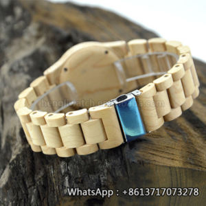 New Environmental Protection Japan Movement Wooden Fashion Watch Bg148 pictures & photos
