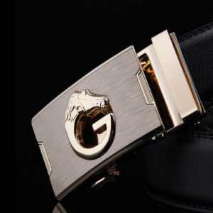Luxury High Quality Designer Men Ol Fashion Dress Belt Automatic Buckle Strap pictures & photos