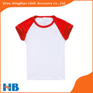 Lycra Cotton Short Sleeve T-Shirt Children Clothing Multicolor