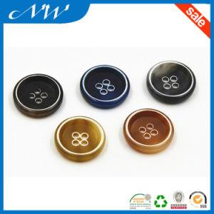 High Quality Burn Rim Effect Urea Button Suit Button pictures & photos