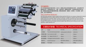 Automatic Slitting Machine for Narrow Label pictures & photos