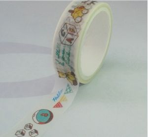 DIY Washi Paer Masking Tape for Gift Decoration pictures & photos