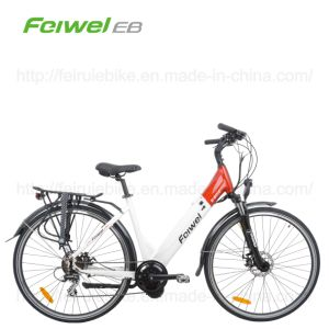 "28"" Frame Battery Central Motor Electric Bicycle (TDB07Z-2) pictures & photos"