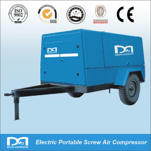 AC Diesel Rotary Screw Type Portable Air Compressor pictures & photos