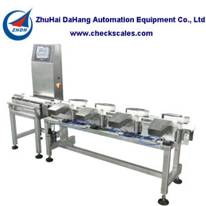 Customized Weight Sorting Machine for Seafood with 10 Weight Levels pictures & photos