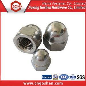 Stainless Steel Hex Cap Nut / DIN986 DIN1587 Hex Cap Nut pictures & photos