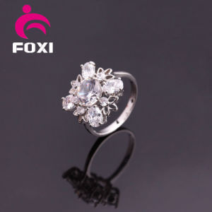 High Quality White Gold New Design Women Rings pictures & photos