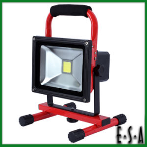 2015 New LED Flood Light 20W, Movable Flood Lighting LED Emergency Light, Rechargeable 20W LED Flood Light Waterproof G05b114 pictures & photos