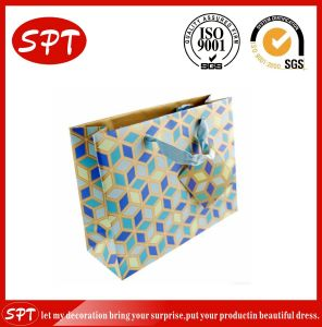 Factory Paper Custom Printed Top Sale Clamshell Gift Bag