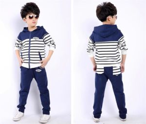 2015 New Arrival/ Casual Long Sleeve Sports Suit for Boys pictures & photos