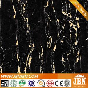 Super Black Full Polished Glazed Porcelain Floor Tile (JM6626) pictures & photos