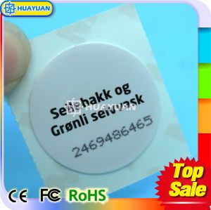 Variable size 13.56MHz Ntag213 Adhesive NFC Sticker RFID Paper Label pictures & photos