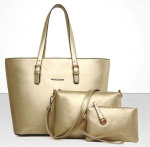 2016 New Leisure Leather Handbag Sets 3PCS Fashionable Designer (XM0114) pictures & photos