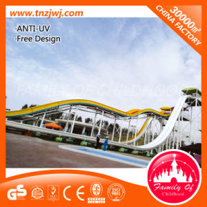 Summer Water Theme Park Large Plastic Water Slide for Sale pictures & photos